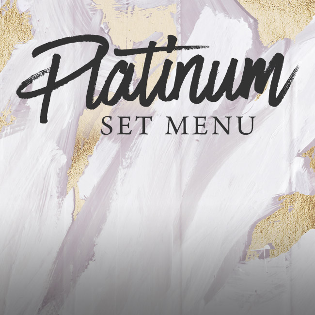 Platinum set menu at The Cromwell Cottage