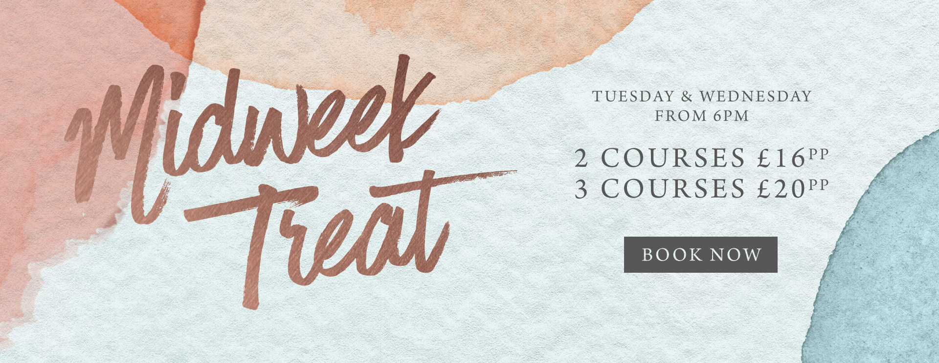 Midweek treat at The Cromwell Cottage - Book now