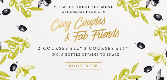 Midweek treat set menu at The Cromwell Cottage